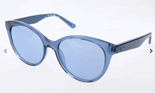 Lacoste Damen L831S Sonnenbrille, Blau, 53