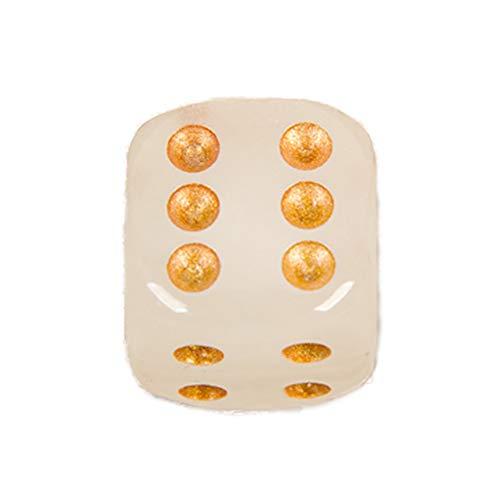 rfel leuchtende Würfel für Board Games Casino Thema und Party Favors 1 PC ()