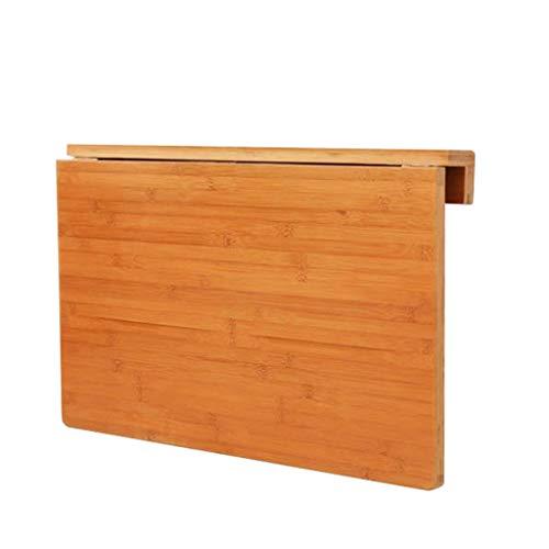 Zfggd Wand-faltender Schreibtisch Drop-Leaf Küchen-Speisetisch-Bücherregal-Büro-Laptop-Tabellen-Schreibtische für Schlafzimmer-einfaches Tabellen-Wohnzimmer (Size : 70×45cm) -