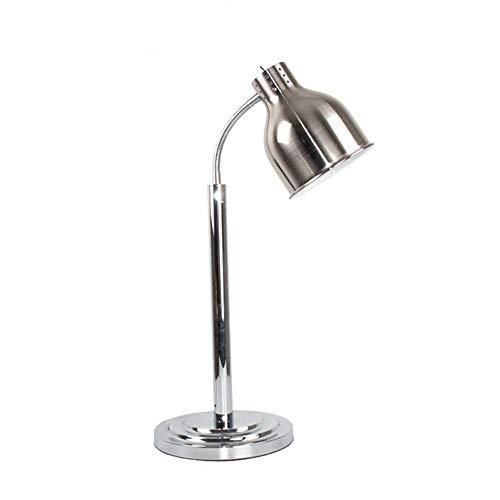Schwarz-gold-buffet-lampe (ZXT Food Warming Lampe Single/Double Glühbirnen Buffet Display Heizung Erhaltung Licht, Commercial Portable W250 Heat Lamp/Beheizte Tisch Stil Lampe (Farbe : Copper, Size : Single Head))