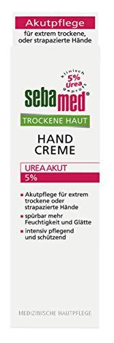 Sebamed Handcreme Trockene Haut Urea 5{97233802054bdefb4c4afb01479278348ea7d33c5390fc9adf1204dc210e0f57}, 2er Pack (2 x 75 ml)