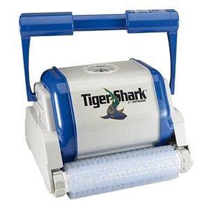 Robot électrique à picots Tiger Shark pour piscine.