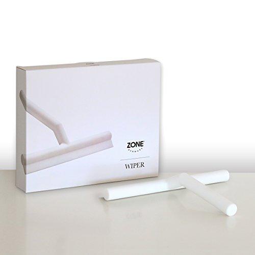 ZONE Dusch-Abzieher WIPER, Silikon, weiss, ca. 21 cm B | ZO-361077 | 5708760614240