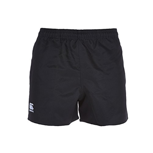 Canterbury Men's Professional Polyester Shorts - Black, X-Large (Rugby Canterbury Shorts)