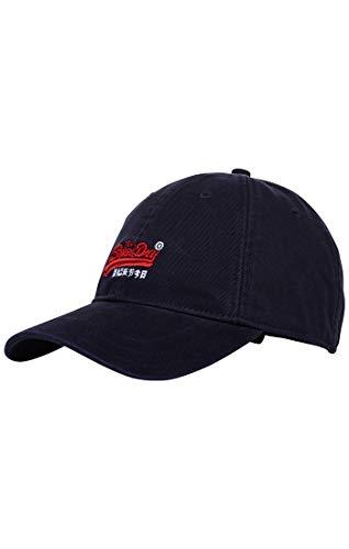 Superdry Herren Baseball Cap M90000mr, Blau (Navy 11s), One Size (Herstellergröße:...