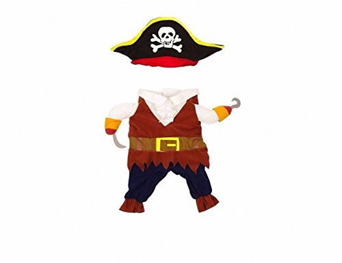 proomi Pirates of the Caribbean Pet Kostüm Hoodies Halloween Verklärung Ausstattung für Katzen und Hunde? niedlich und schön (Niedliche Haustier Katze Halloween Kostüme)