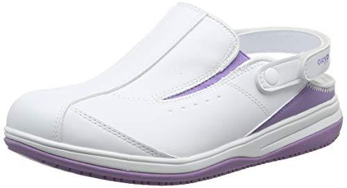 Oxypas Iris, Damen Sicherheitsschuhe, Weiß (lic), 42 EU (8 UK)