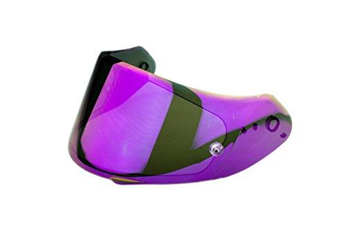 Preisvergleich Produktbild SCORPION Visier 3D für EXO-2000 Exo2000 1200 710 510 410 AIR Violett Verspiegelt