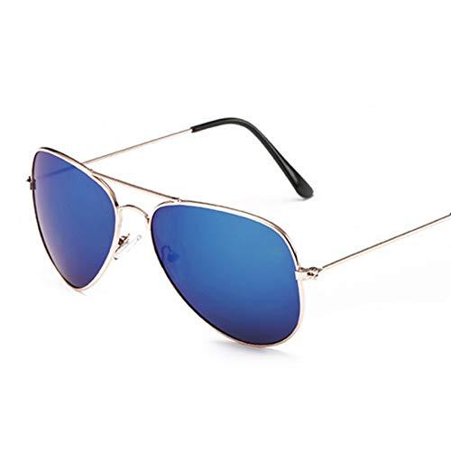 WZYMNTYJ Neue pliot Sonnenbrille Frauen Bunte weibliche Vintage linse Brille männerweibliche Metall vollefram Brille