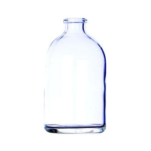 Wheaton 700035 Vial De Inyección Moldeado, 100 ml