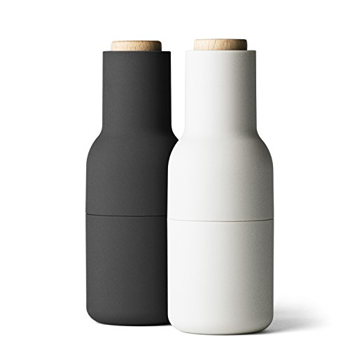 Bottle Mühle, small, set ash/carbon - L