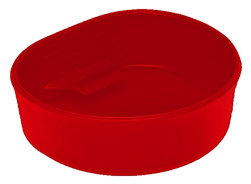 Wildo fold-a-cup Medium Rouge - rouge