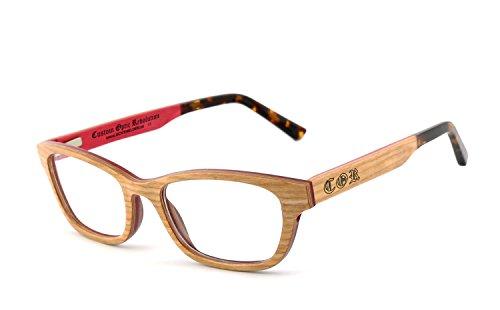 COR - green Holzbrille Brillenfassung Brille COR-008