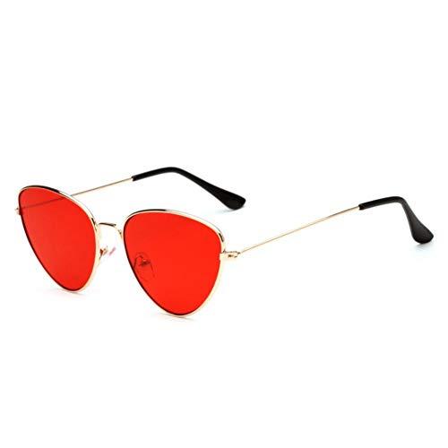 DWSYDA Frauen-Sonnenbrille-Objektiv-Mode-Weinlese-geformte Sonnenbrille-Frauen-Brillen-weibliche Sonnenbrille,4