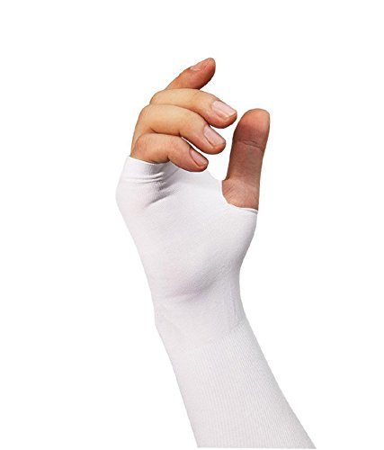 RRC RR_7_P3 Cooling UV Protection Arm Sleeves, 3 Pair (White)