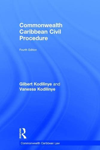 Commonwealth Caribbean Civil Procedure (Commonwealth Caribbean Law)