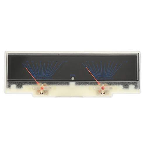 Meisijia Level Meter-Alta precisione VU Meter Pannello Dual Analog VU Meter Audio Testa Amplificatore Db Tabella preamplificatore
