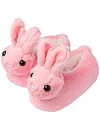 8e1b5c47e6 Pantofole da ragazze a forma di pecora o coniglio, con orecchie, con suola  antiscivolo