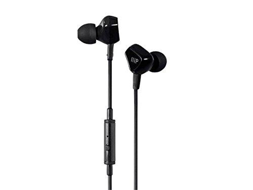 Monoprice Triple XXX Triple Treiber in-Ear Kopfhörer w/Mikrofon und 1-Knopf Kontrolle–(118516)