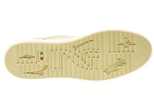 NERO GIARDINI Frauen niedrige Turnschuhe P717240D / 410 Gold