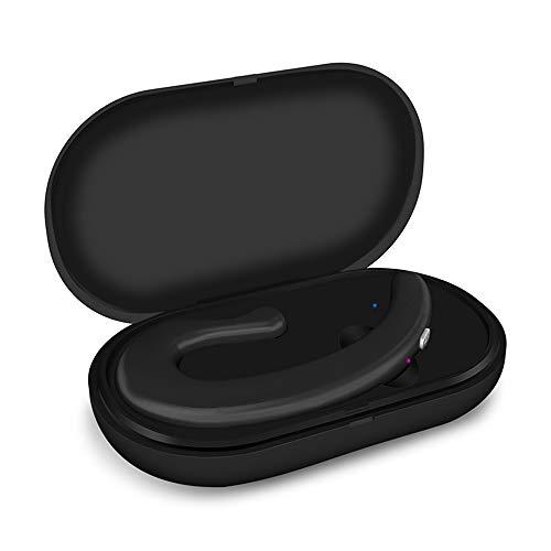 DANGSHUO - Auriculares inalámbricos Bluetooth 5.0 con Funda de Carga inalámbrica IPX5 Resistente al Agua CVC Cancelación de Ruido