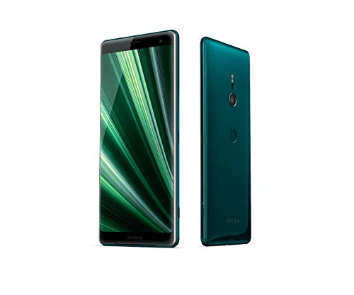 Sony Xperia XZ3 Smartphone (15,2 cm (6 Zoll) OLED Display, Dual-SIM, 64 GB interner Speicher und 4 GB RAM, BRAVIA TV Technologie, IP68, Android 9.0) Forest Green - Deutsche Version Forest Green Gläser