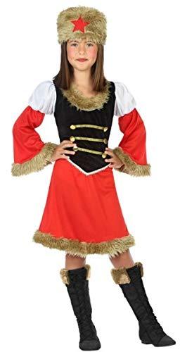 Mädchen Russisch Kostüm - Fancy Me Kostüm für Mädchen, rotes Russisches Around The World, 3-12 Jahre
