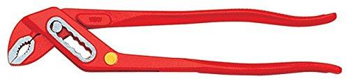 VBW Pinza giratubi, lucidato, 150mm, laccato rosso, 87188005