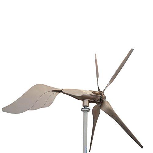 Tumo-Int 1500 Watts 5 Schaufel Windkraftanlage mit MPPT Laderegler (110V)