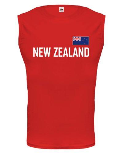 buXsbaum® Tank Top Neuseeland Red-
