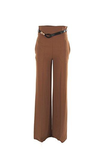 Pantalone Donna Sandro Ferrone 46 Cammello 41704 Autunno Inverno 2016/17