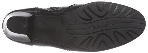 Tamaris 25037 Damen Kurzschaft Stiefel Schwarz (Black 001)