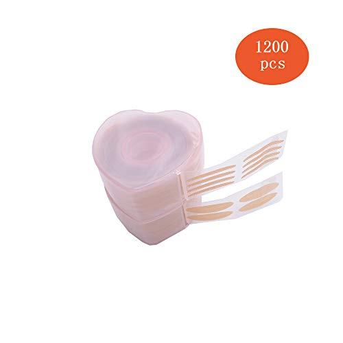 Scopri offerta per 1200 pezzi Nastro Adesivo per Palpebre,Adesivi per palpebre,Invisibile Nastro Adesivo per Palpebre Nastro a Doppia Palpebra con 2 Pezzi Forcelle, Colore della Pelle