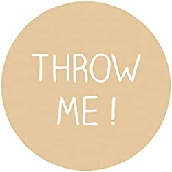 48 STICKERS Autocollant 'Throw Me', Confettis de mariage étiquettes,40MM ROND sceaux Labels pour sacs à confettis Mariage/Engagement/Baptême/Communion/Anniversaire/Fête -UNI 001