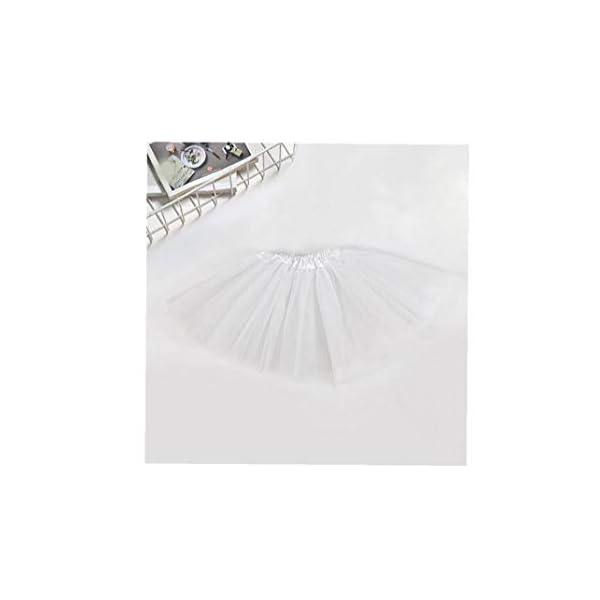 Falda del tutú de moda de 3 capas de la princesa vestido de ballet Ballet del Consejo de Medio tul moda falda de la… 2