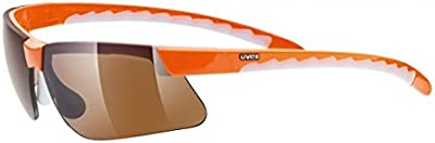 Uvex reithelme UVEX Gafas de sol Active, One size, Naranja/antivaho Brown