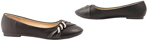 Elara - Pantofole Donna Schwarz Paris