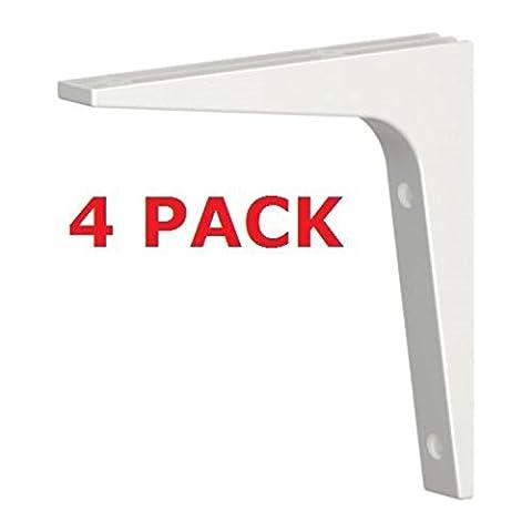 IKEA Équerre pour étagère ferrures adaptées STODIS (Lot de 4)