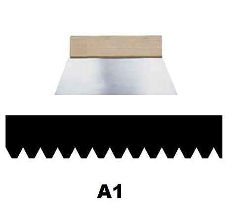 Leim Klebstoff Zahnspachtel Bodenleger Normalstahl A1 0