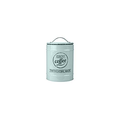 Medicate | 101936 | XL Kaffeedose Vorrats-Dosen aus Metall 11x17 cm in Mint