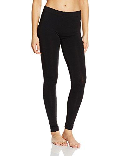 Marc O'Polo Body & Beach Damen Schlafanzughose LEGGINGS, Gr. 38 (Herstellergröße: M), Schwarz (blauschwarz 001)