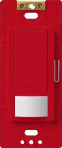 Lutron MS-VPS5M-HT Maestro 600-watt Single Pole/3-Way Vacancy Sensor Switch, Hot, 1-Pack by Lutron -