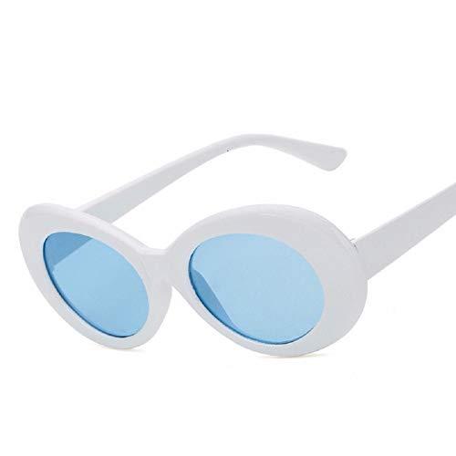 YWLINK Mode Klassisch Damen Polarisierte Sonnenbrille Strand Urlaub Retro Multicolor GläNzend Ellipse Brille