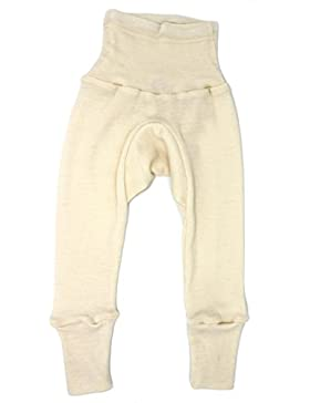Cosilana Baby Hose lang mit Bund aus 70% Wolle und 30% Seide kbT