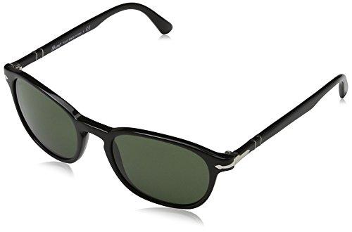 Persol Herren 0PO3148S Sonnenbrille, Schwarz (Black), 53