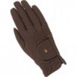Roeckl Roeck Grip Reithandschuh, Herbst Winter Handschuh, Fleece, weiß, Gr.6,5