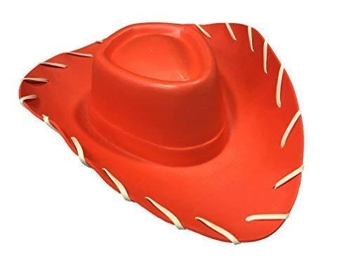 Rot Stich Kostüm - Quickdraw Erwachsene rot Cowboy Hut Wilder Westen Eva Kostüm Verkleidung Zubehör
