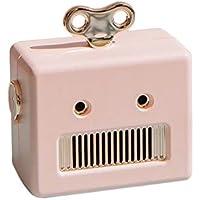 iHome Altavoz Bluetooth Portable, Mini Robot Altavoz Bluetooth Caja Robot Altavoz para Mujer Niños
