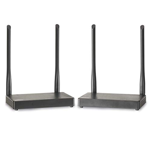 Marmitek TV Anywhere Wireless HD - HDMI Extender - HDMI drahtlos - Full HD - 1080P - flächendeckendes Bereich - durchschleifen - APP - Sehen Sie anderswo im Haus TV ohne Kabel zu verlegen - KVM