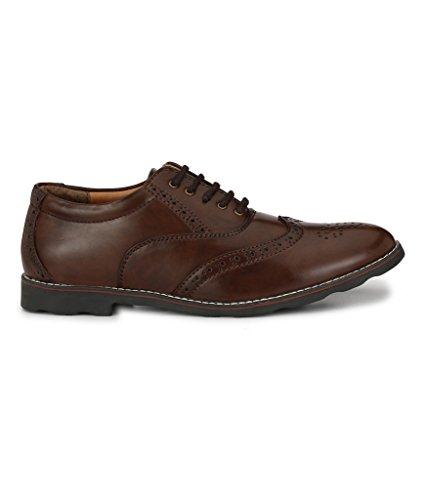 Prolific Men's Brown Brogue - 8